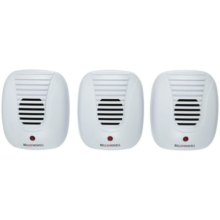 Bell + Howell® Ultrasonic Pest Repellers 3 ct Carded Pack