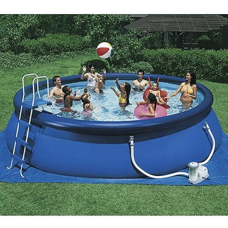 18ft x 48in easy set pool. Black Bedroom Furniture Sets. Home Design Ideas