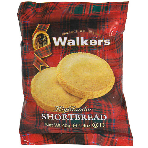 Walkers Shortbread Cookies, 1.4 oz (Pack of 24)