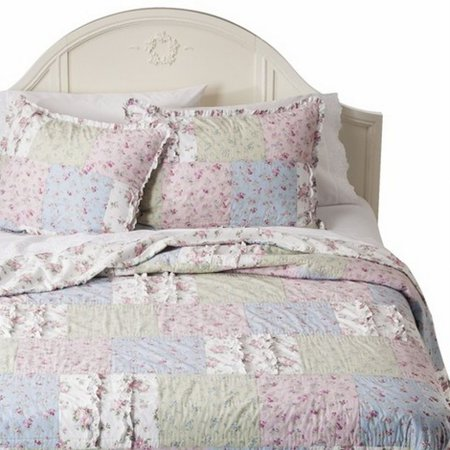Simply Shabby Chic Pretty Ditsy Floral Patchwork Twin Bed