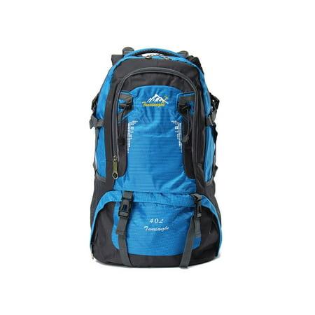 05e44c5828 40L 60L Nylon Outdoor Backpack Waterproof Athletic Sport Hiking Travel  Rucksack School Bag - Walmart.com