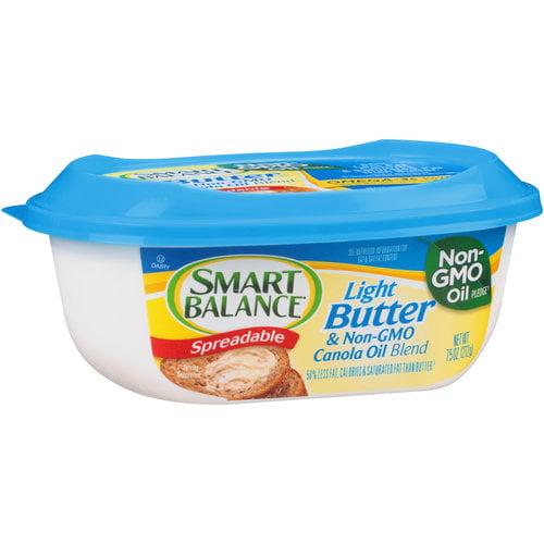 Smart Balance Light Spreadable Butter & Canola Oil, 7.5 oz