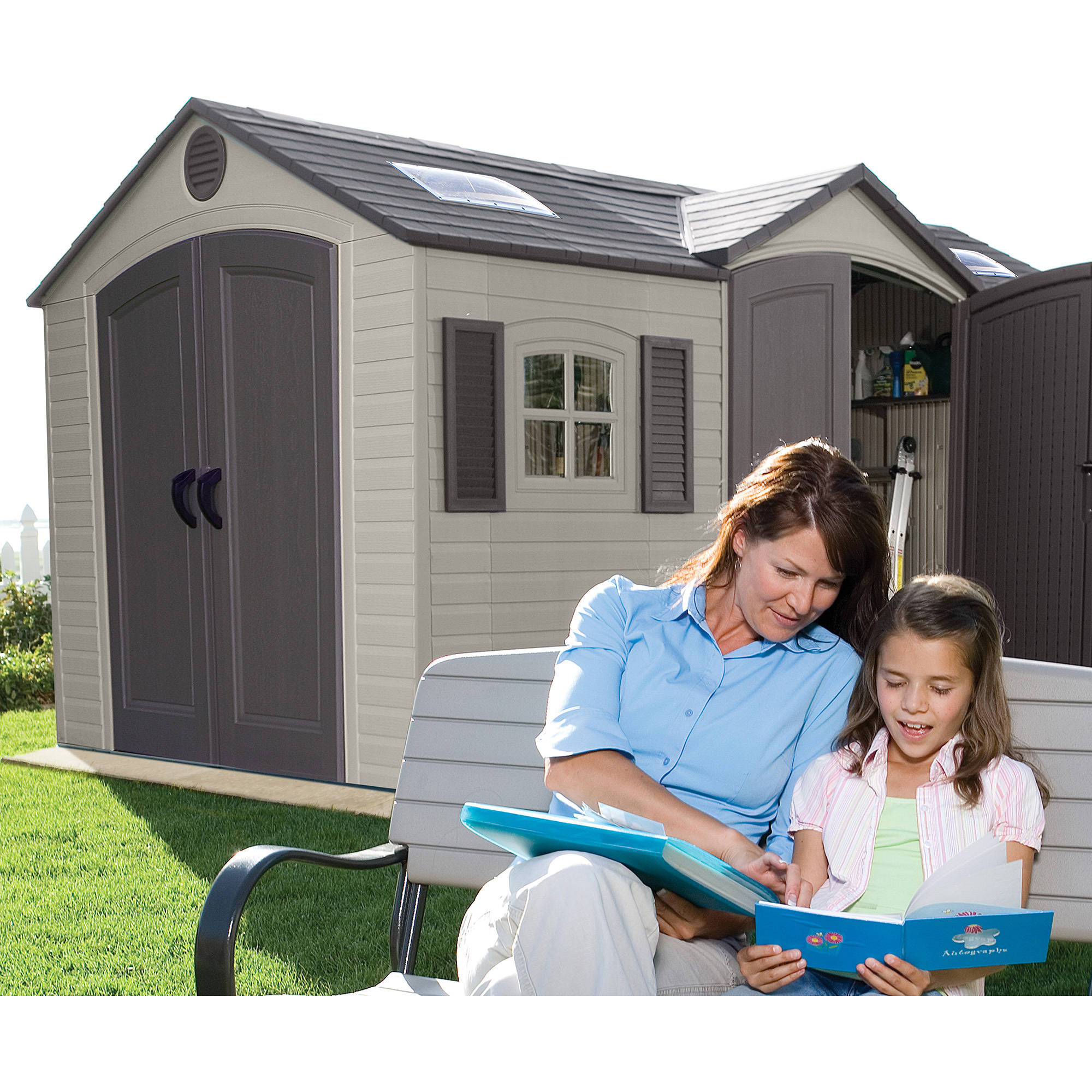 shed w wayfair products d sheds garden mercia reviews overlap co ft wooden apex pdp uk x storage