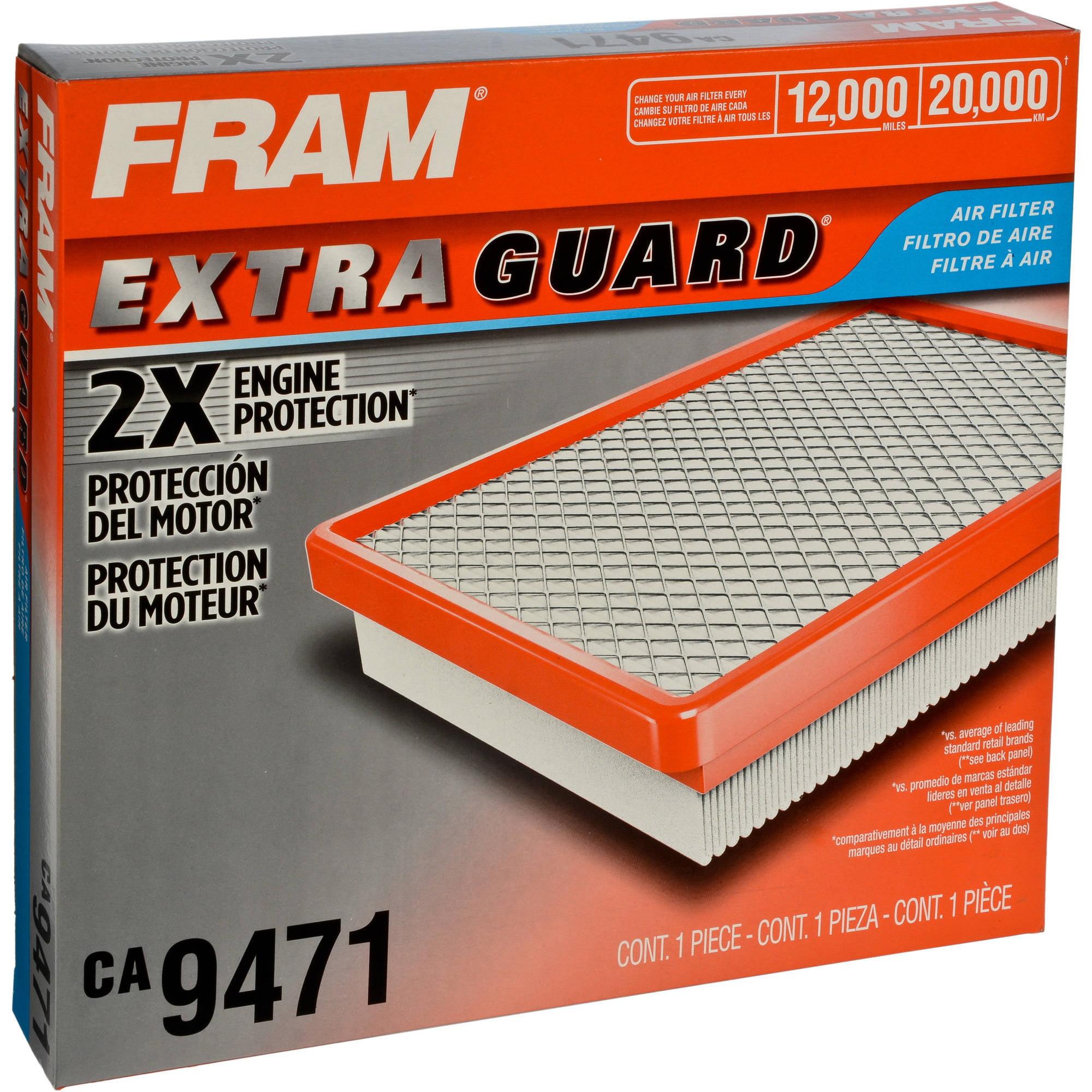 FRAM CA7426 Extra Guard Flexible Rectangular Panel Air Filter