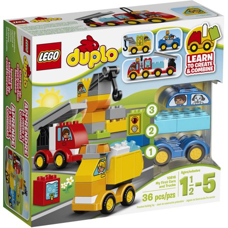LEGO DUPLO My First My First Cars and Trucks, 10816