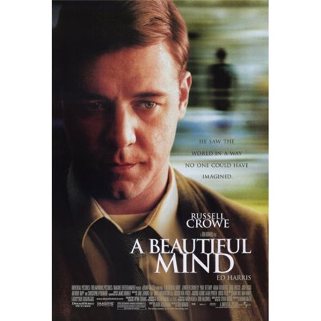 Pop Culture Graphics MOVAF1325 A Beautiful Mind Movie Poster Print, 27 x 40 - image 1 of 1