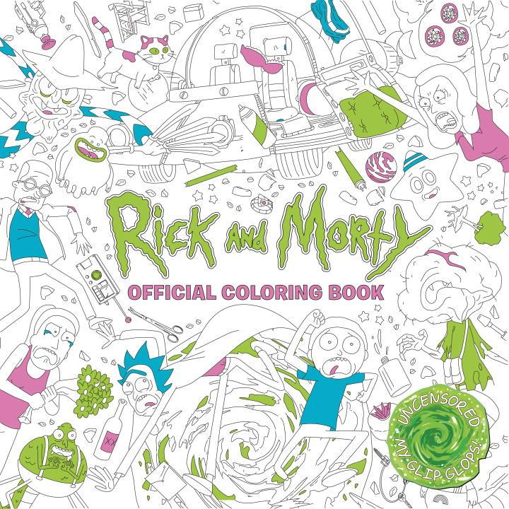Rick and Morty Official Coloring Book (Paperback)