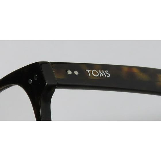 2b61d1a34b85 New Toms Nairobi Classic 601 Mens Womens Designer Full-Rim Tortoise   Ivory    Orange Plastic Temples Hot Frame Demo Lenses 53-17-140 Eyeglasses Spectacles  ...