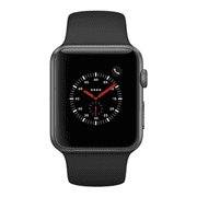 Apple Watch Series 2 - 42mm, WiFi - Space Gray with Black Sport Band - Scratch & Dent