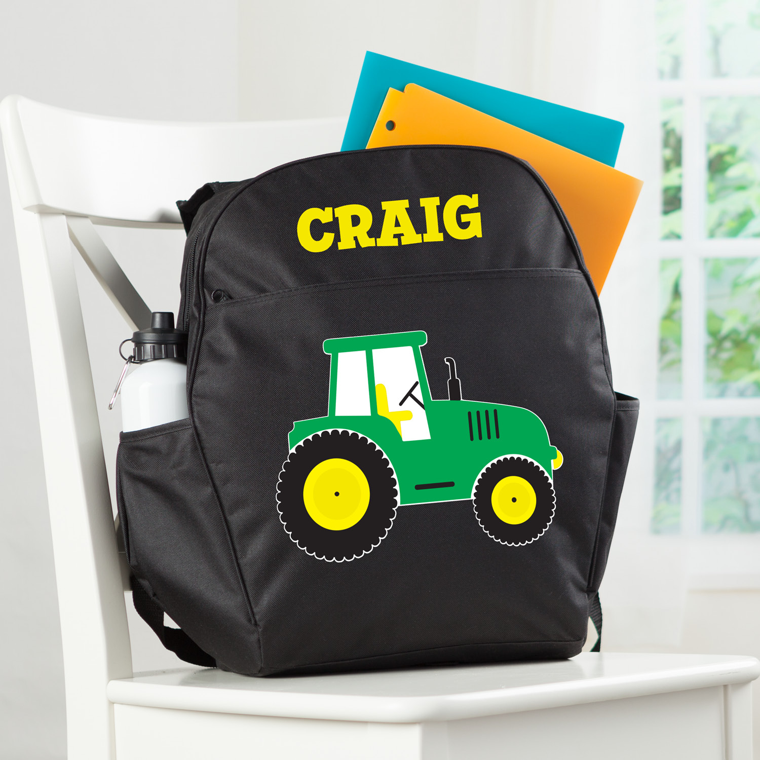 Tractor Personalized Backpack