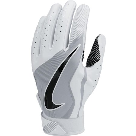 Mens Vapor Glove Shoes - Nike GF0498 Boys Vapor Jet 4 Football Gloves - White