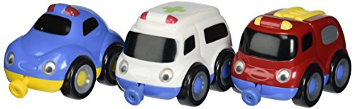 Small World Toys Preschool -Magnetic Tailgate Trio Emergency Vehicles by Small World Toys