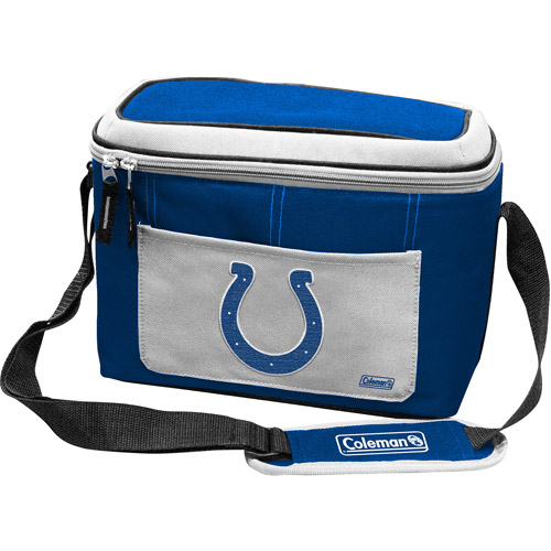 "Coleman 11"" x 7"" x 9"" 12-Can Cooler, Indianapolis Colts"