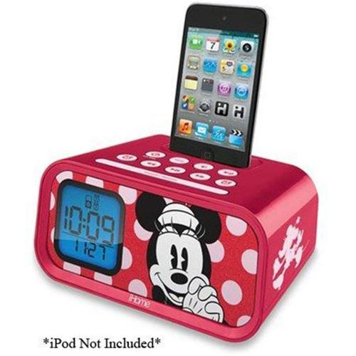 Dual Alarm Clock Speaker System for iPod/iPhone