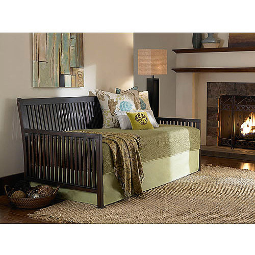 Mission Wood Twin Daybed, Espresso