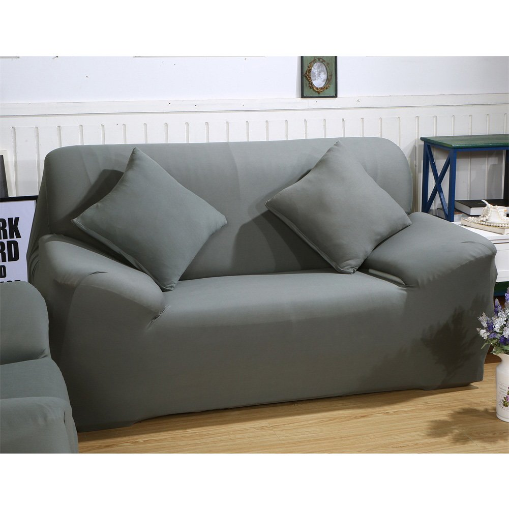 Stretch Fabric Sofa Slipcover 2 3 seater, Elastic Sectional Sofa ...