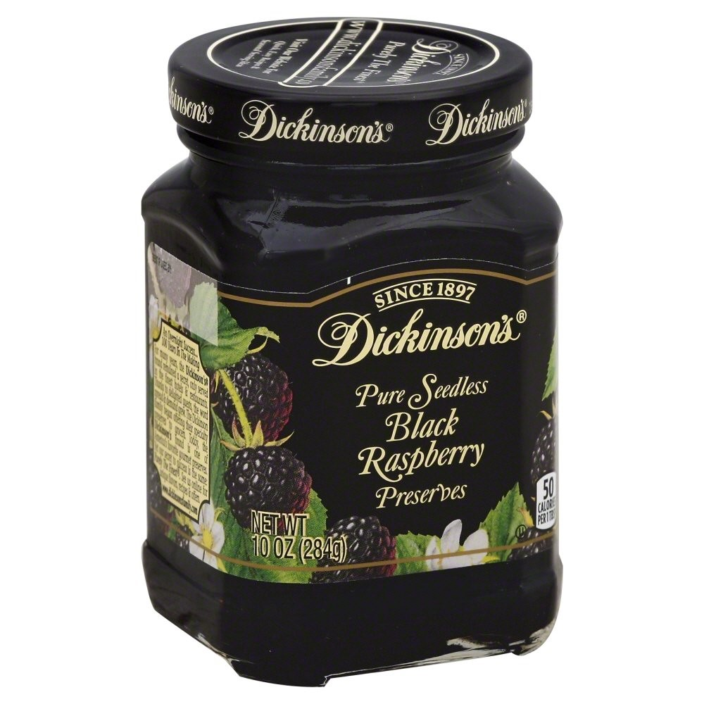Dickinson's Pure Seedless Black Raspberry Preserves, 10.0 OZ by JM SMUCKER