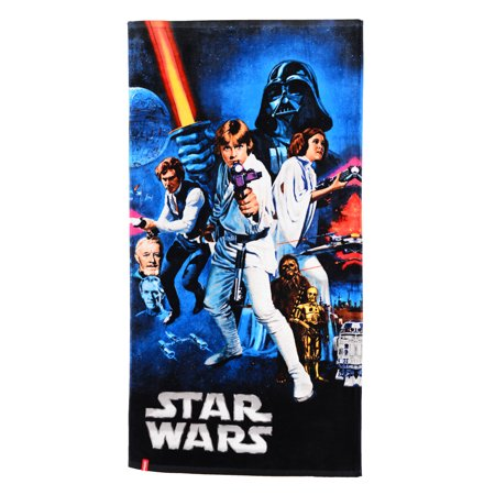 Star Wars A New Hope Poster Beach Towel - Star Wars Tower