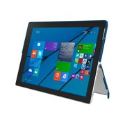 Incipio Feather Advance - Back cover for tablet - Plextonium, vegan leather - navy - for Microsoft Surface Pro 3