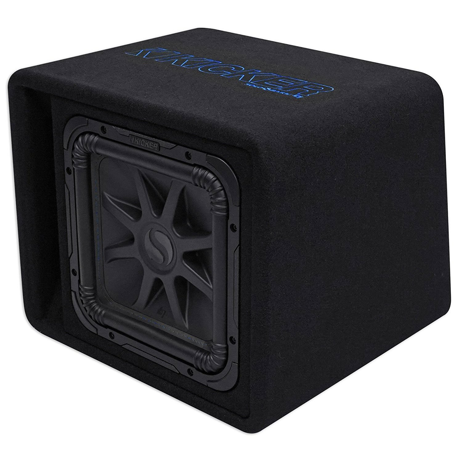 "Kicker 12"" 1500W Single Loaded Solo-Baric L7S 2 Ohm Subwoofer Enclosure"
