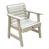 highwood® Eco-Friendly Recycled Plastic Weatherly Garden Chair