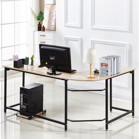Best Choice Products Modern L-Shaped Corner Desk Now $89.99 (Was $221.99)