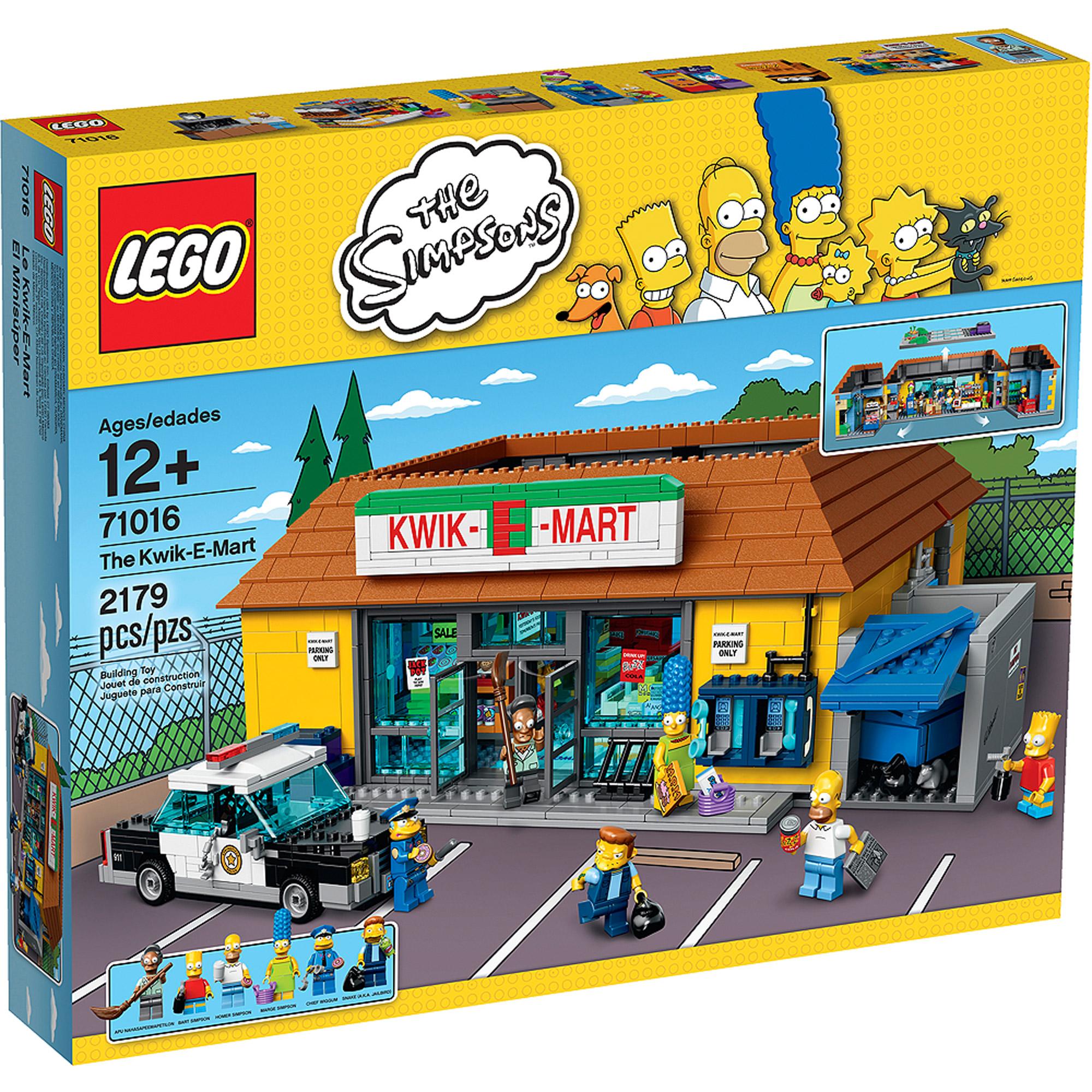 LEGO The Simpsons The Kwik-E-Mart