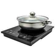Best Portable Cooktops - Rosewill RHAI-15001 1800W 5 Pre-Programmed Settings Induction Cooker Review