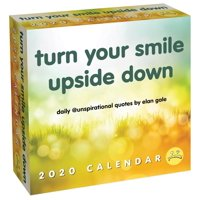 Unspirational 2020 Day-To-Day Calendar: Turn Your Smile Upside Down (Other)