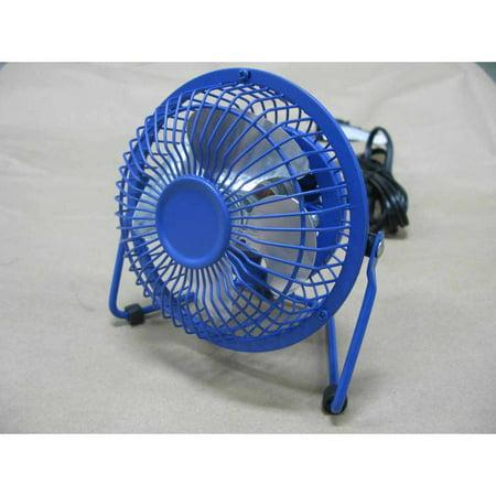 Mainstays Mini Personal Desk Fan 360 Degree Pivot