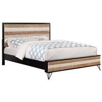 Furniture of America Sizzon California King Platform Bed in Espresso