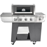 Cuisinart Deluxe Four-Burner Gas Grill with Side Burner