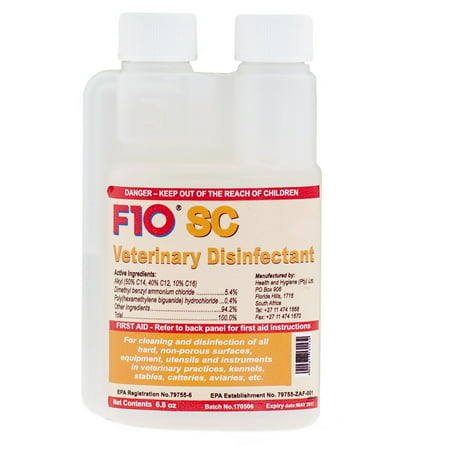 F10SC Veterinary Disinfectant (200ml) by F10 SC
