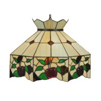 "Meyda Tiffany 47569 Tiffany Glass 3 Light 20"" Wide Pendant"