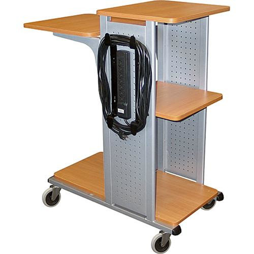 H. Wilson Company Four Shelf Presentation Station AV Cart