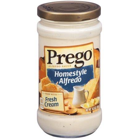 how to cook prego alfredo sauce
