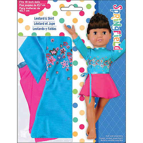 Springfield Collection Leotard And Skirt
