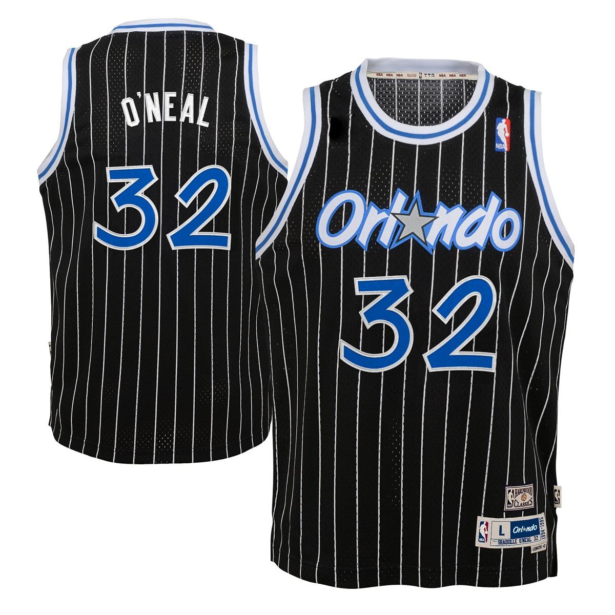 Shaquille O'Neal Orlando Magic NBA Youth Throwback Swingman Jersey - Black