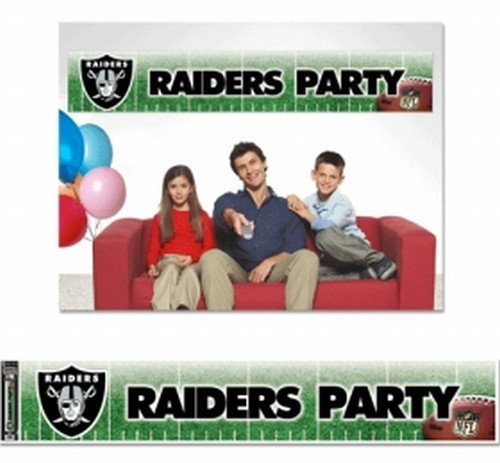 Oakland Raiders Party Banner - image 1 of 1