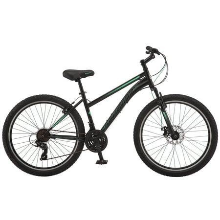 Schwinn Sidewinder mountain bike, 26-inch wheels, 21 speeds, women's frame, black