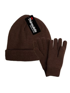 8be4f1ee45f Product Image DG Hill Mens Winter Hat And Gloves Set with 3M Thinsulate  Fleece Lining Beanie