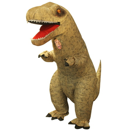 Men Inflatable T-rex One size Halloween Dress Up / Role Play Costume](Dressed Up Dogs Halloween)