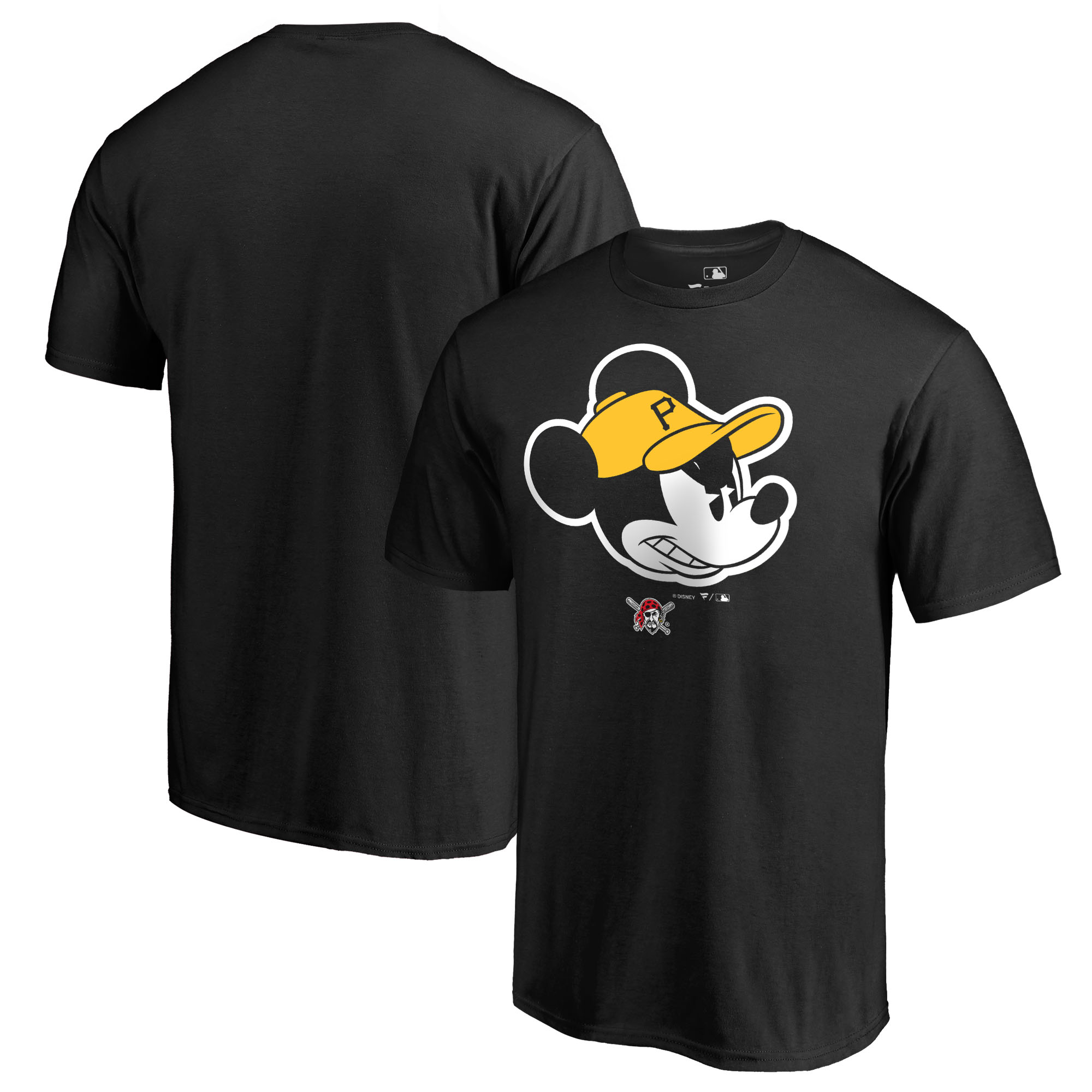 Pittsburgh Pirates Fanatics Branded Disney Game Face T-Shirt - Black