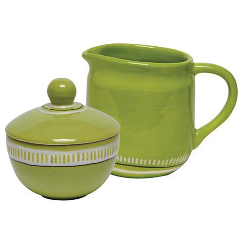 Thompson and Elm Colors Sugar and Creamer Set