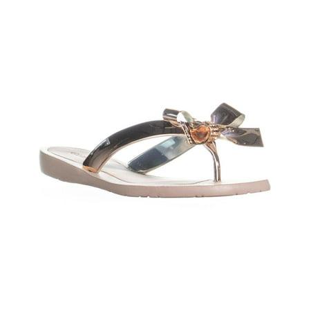 4f7e61d34ec GUESS - Womens GUESS Tutu9 Bow Thong Sandals