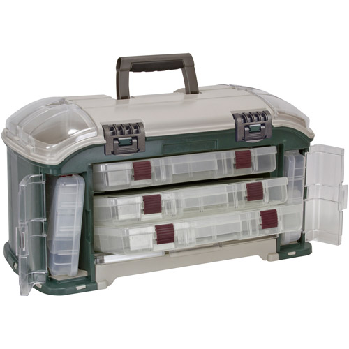 Plano Outdoor Sports Angled Fishing Tackle Box System by Plano