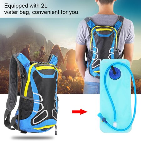 Bike Backpack,Sonew Multifunctional Sports Backpack with 2L Water Bladder Bag For Cycling Hiking Climbing