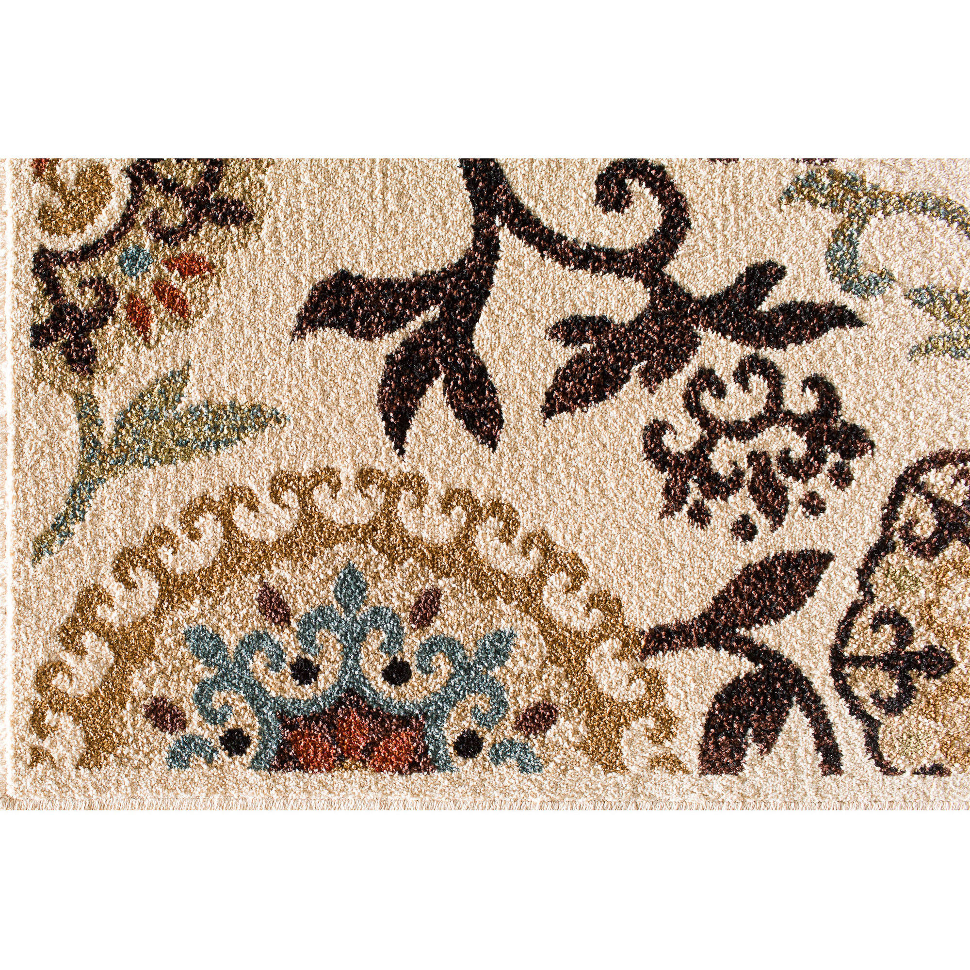 Better Homes And Gardens Floral Suzani Outdoor Rug Walmart Com