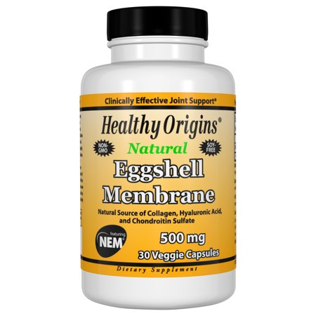 Eggshell Membrane 500 mg (NEM), 30 Veggie Capsules