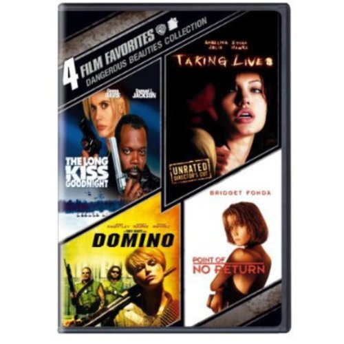 4 Film Favorites: Dangerous Beauties Collection - The Long Kiss Goodnight / Taking Lives / Domino / Point Of No Return (Widescreen)